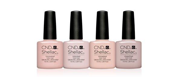 CND Shellac Natural Nail Colours Eastwood Nail Bar